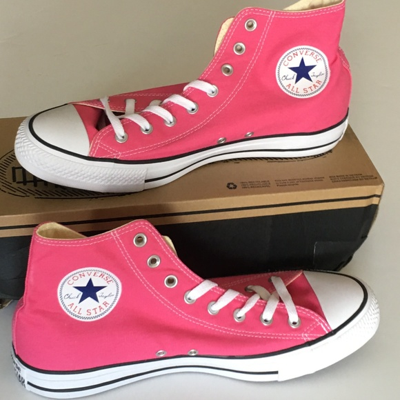 4787ddfef9 Converse Shoes | Pink Chuck Taylor All Star Mens Sz 11 | Poshmark